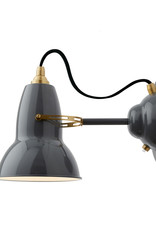 Anglepoise PREORDER Original 1227 Wall Light Sconce - Elephant Grey with Brass