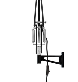 Anglepoise PREORDER Wall Mount Bracket for Original 1227 Series Lamps - Jet Black