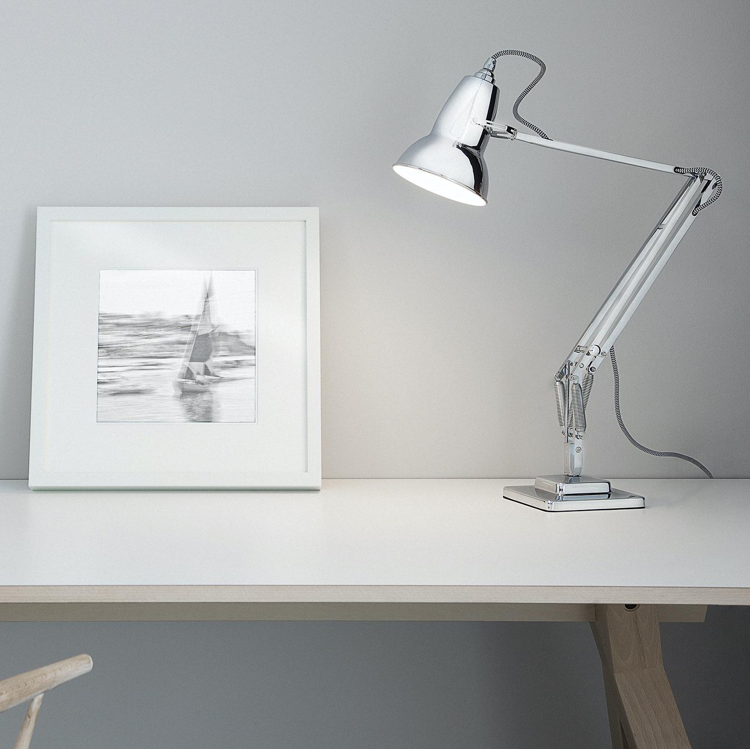 Anglepoise PREORDER Original 1227 Desk Lamp - Bright Chrome Finish