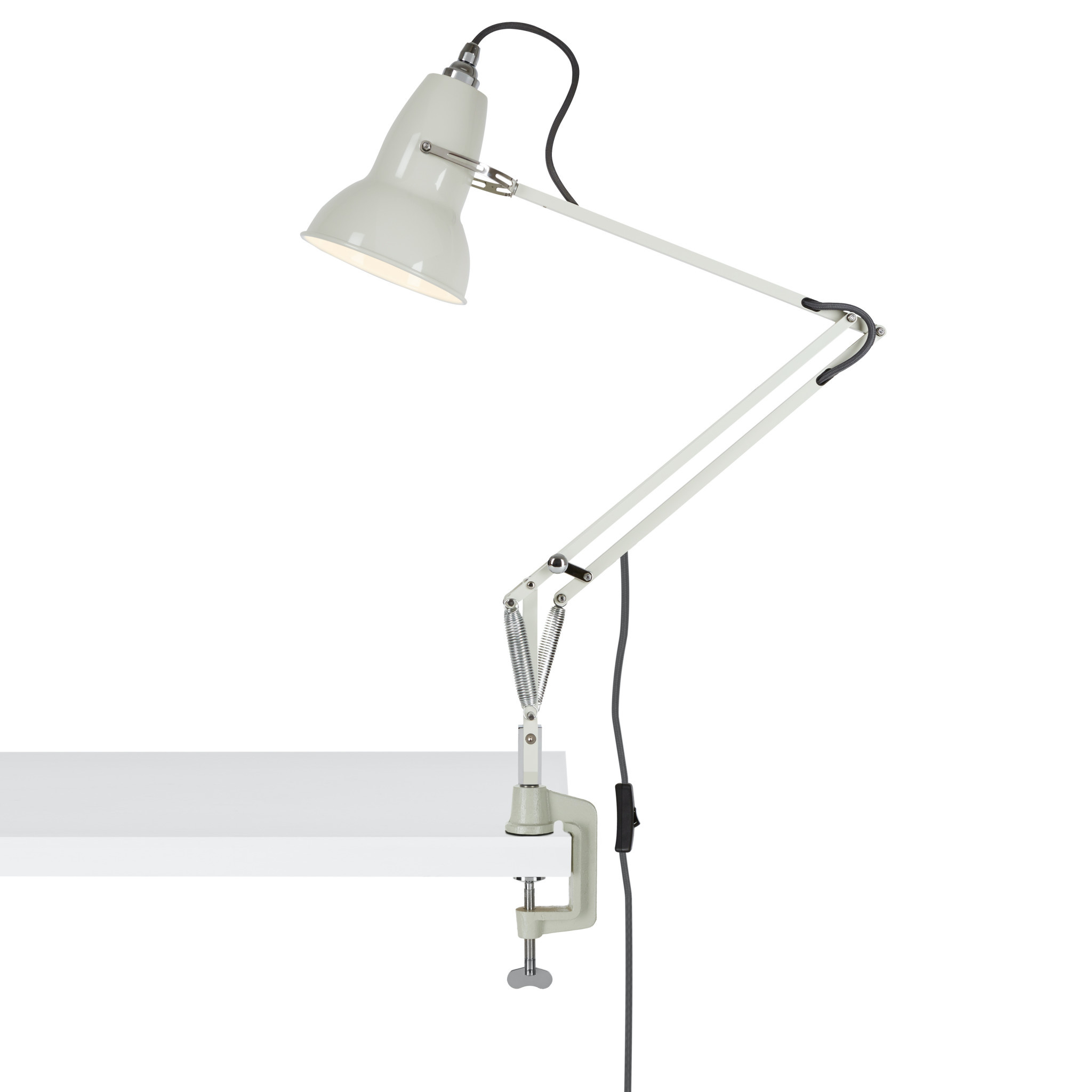 Anglepoise PREORDER Desk Mount Clamp for Original 1227 Series Lamps - Linen White