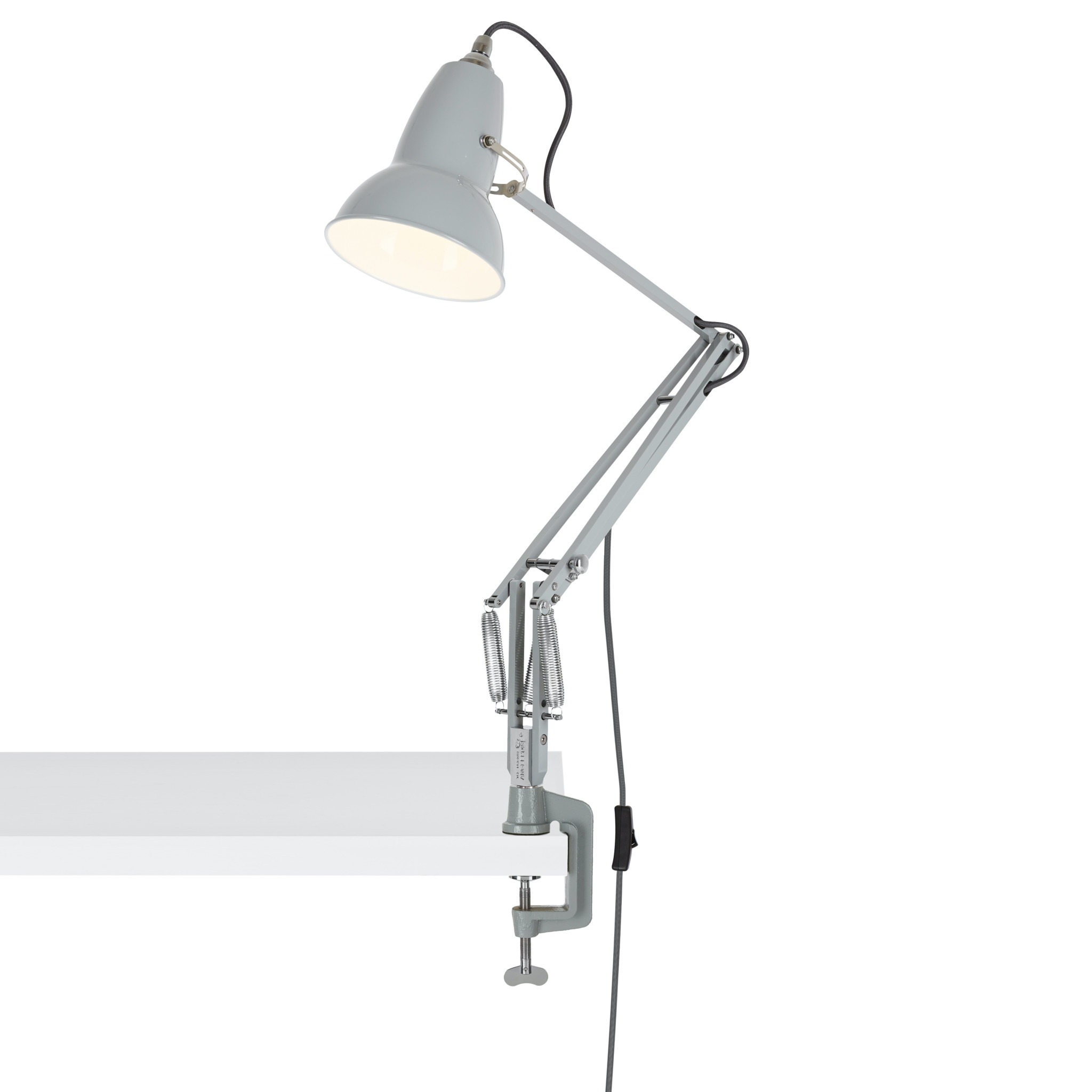 Anglepoise PREORDER Desk Mount Clamp for Original 1227 Series Lamps - Dove Grey