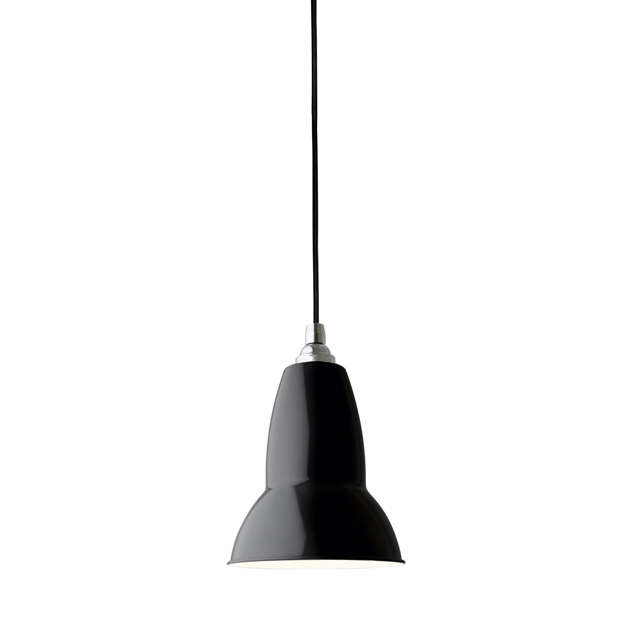 Anglepoise PREORDER Original 1227  Pendant Lamp - Jet Black with Chrome