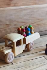 Swedish Wooden Dump Truck - Large
