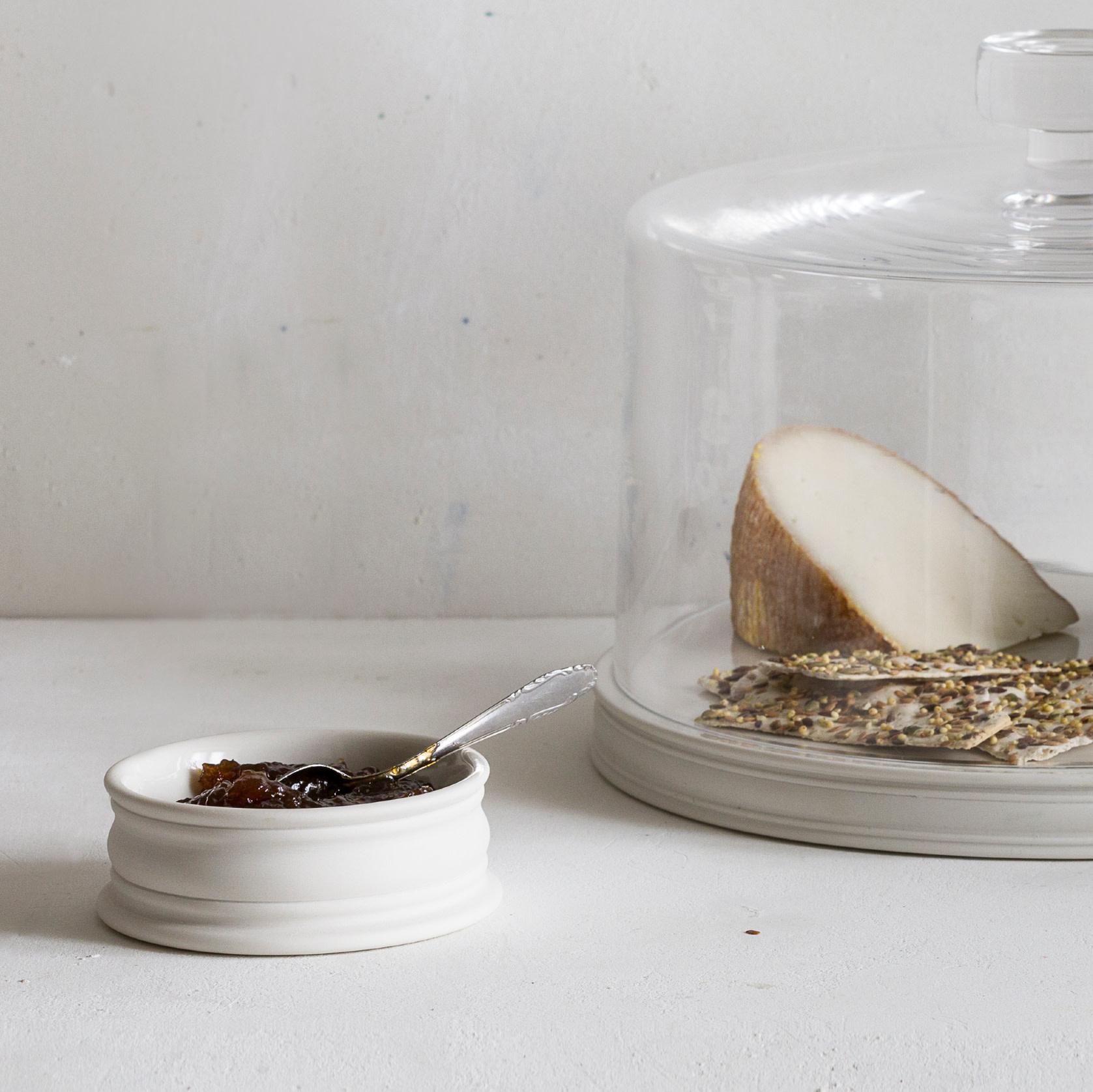 """John Julian John Julian Hand Thrown Porcelain Pinch Pots - Full Glaze - Medium - 4"""""""