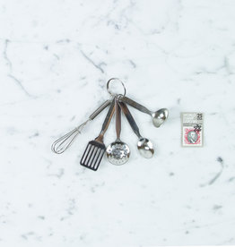 Tiny Kitchen Cooking Tools Keychain
