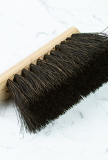 German Shop Brush - Stiff Black Bristles