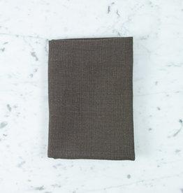 """Libeco Home Belgian Linen Napkin - Napoli Vintage - Cafenoir - 22"""""""