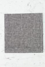 "Linen Napkin - Glen Grey Check - 18"""