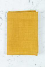 "Libeco Home Belgian Linen Napkin - Napoli Vintage - Mustard - 22"""