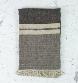 "Libeco Home Belgian Linen Fouta Towel - Tack Stripe - 43 x 71"""