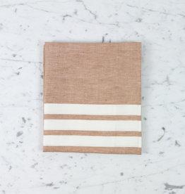"""Libeco Home Belgian Linen Tea Towel - Desert Stripe - 24 x 31"""""""