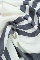 "Libeco Home Belgian Linen + Cotton Tea Towel -  Falls Gap Stripe - 24  x 31"""