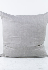 """Libeco Home Belgian Linen Pillow COVER ONLY - The Workshop Stripe - 26"""""""
