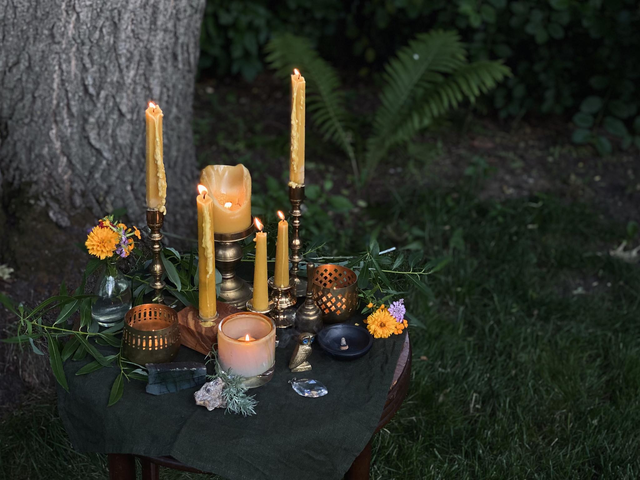 Celebrating Light + Intention: Solstice Altars