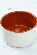 White Terracotta Cazuela Baking Dish