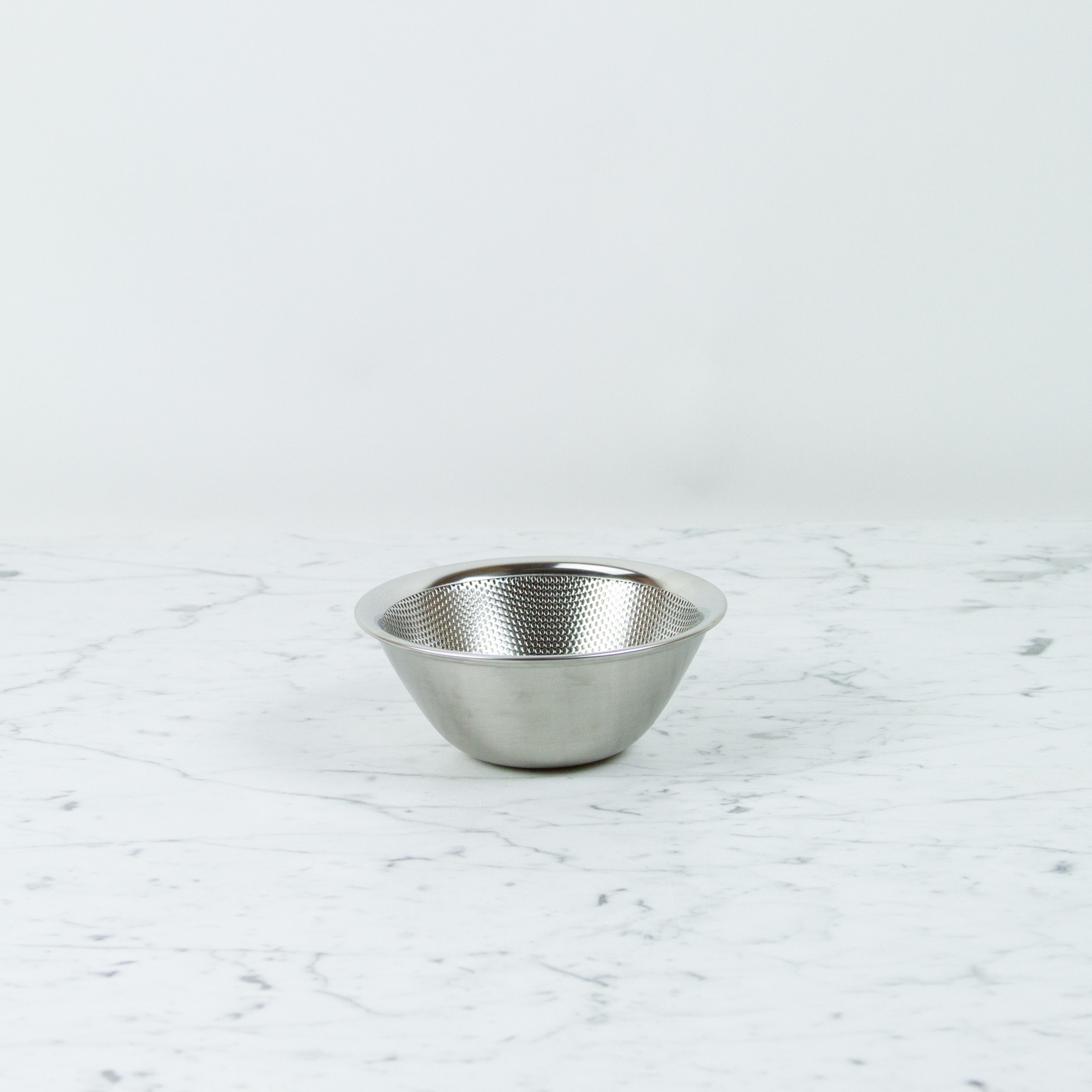 """Japanese Stainless Steel Punch Pressed Strainer - 6.5"""""""