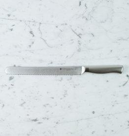 "Japanese Stainless Steel Bread Knife - 12.5"""