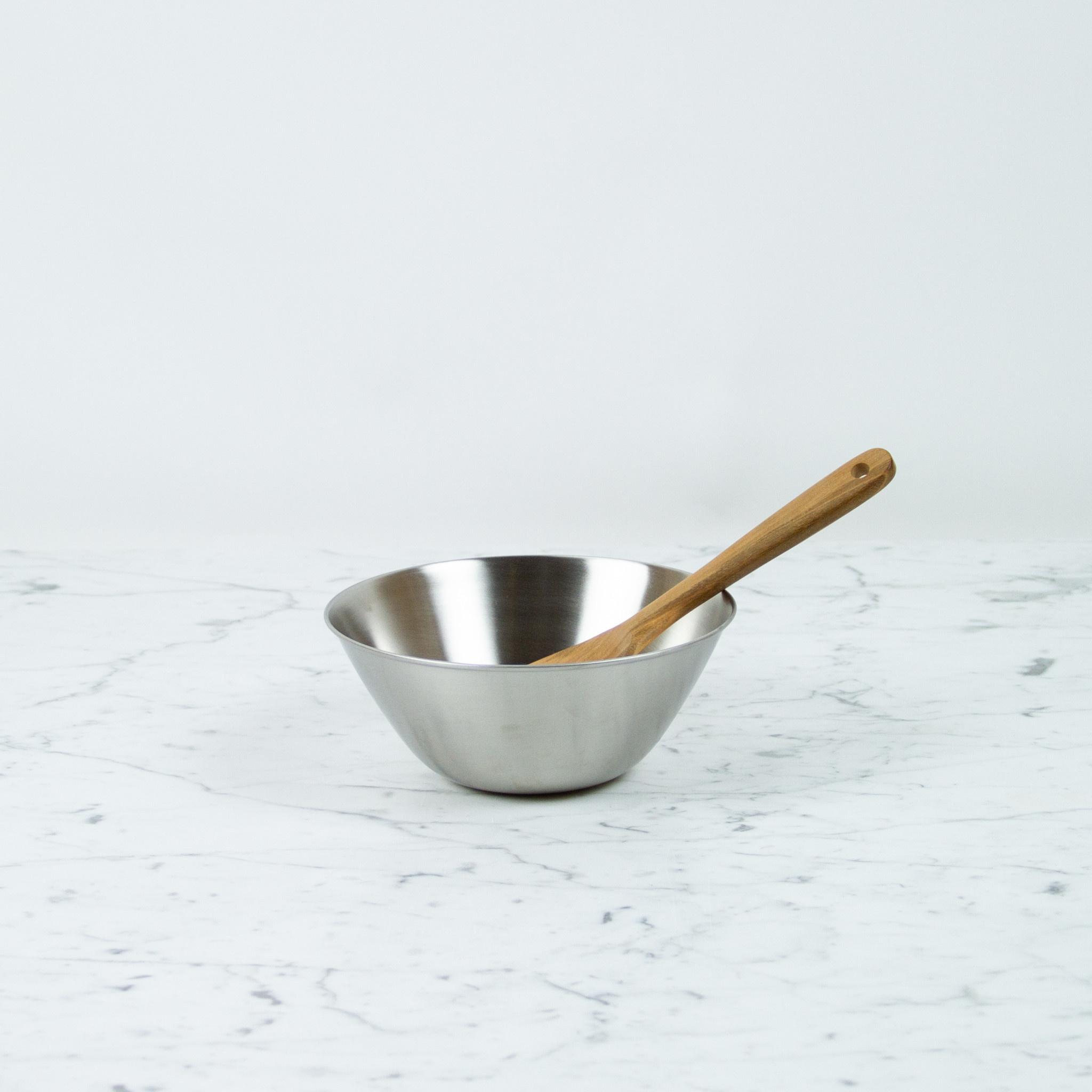 """Japanese Stainless Steel Mixing Bowl - 7.25"""""""