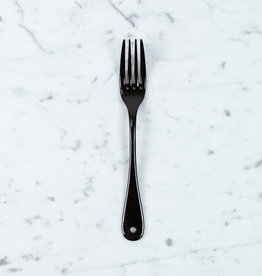 Black Enamel Dessert Fork