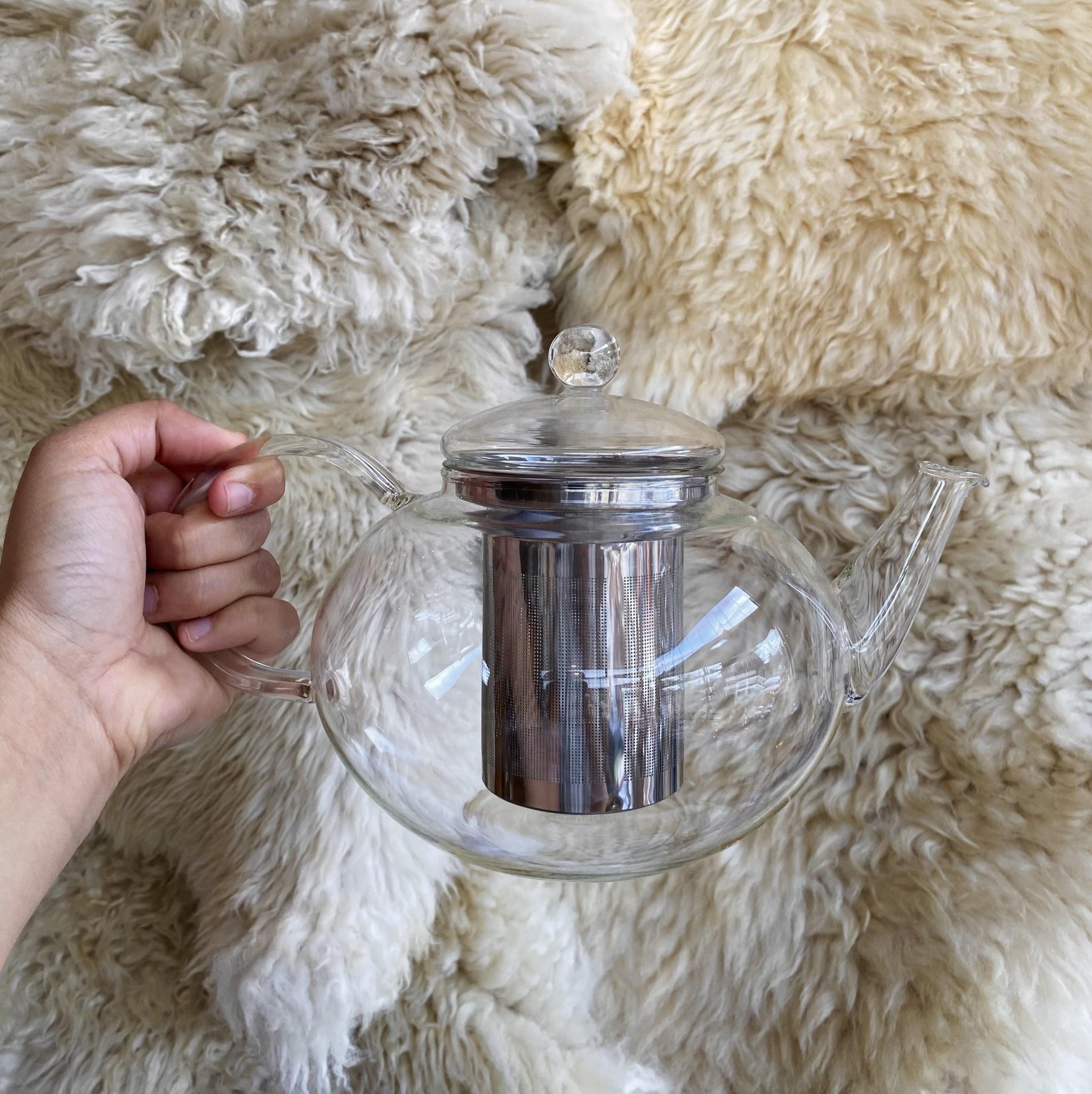 Miko Glass Teapot  - 1.2 Liter