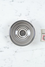 Terracotta Grey Stripe Tiny Bowl
