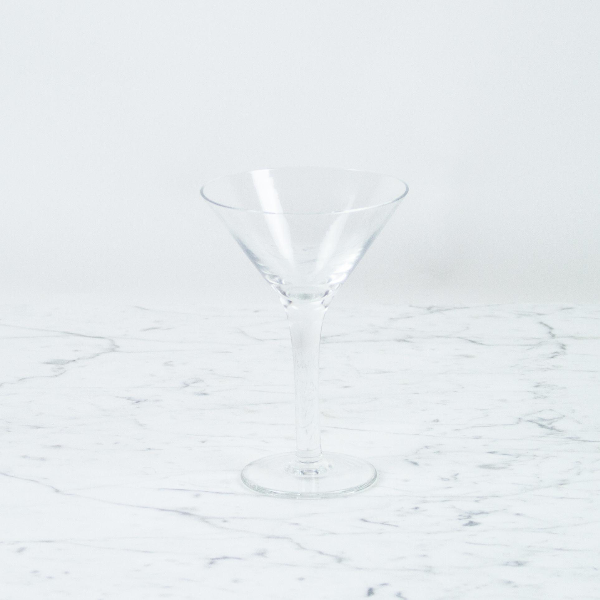 Henry Dean Handblown Martini Glass