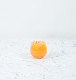 Henry Dean Tiny Clovis Vessel - Cantaloupe Orange