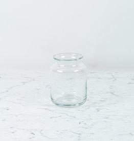 Henry Dean Handblown Squat Vase with Lip - Large
