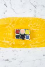 Beam Paints Natural Pigment Handmade Watercolor Paint - New Spring Palette - 6 Colors