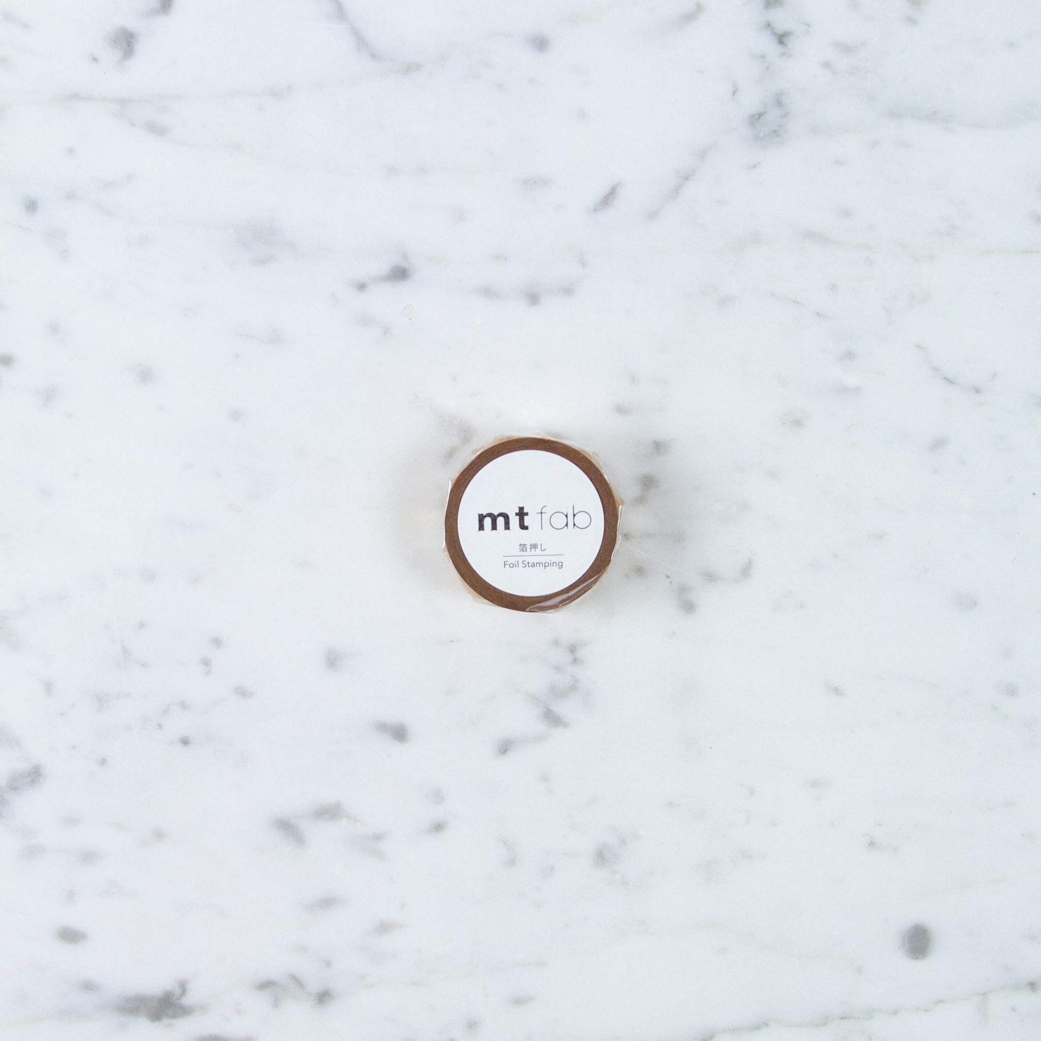 Washi Tape Single: Gold Dust Foil