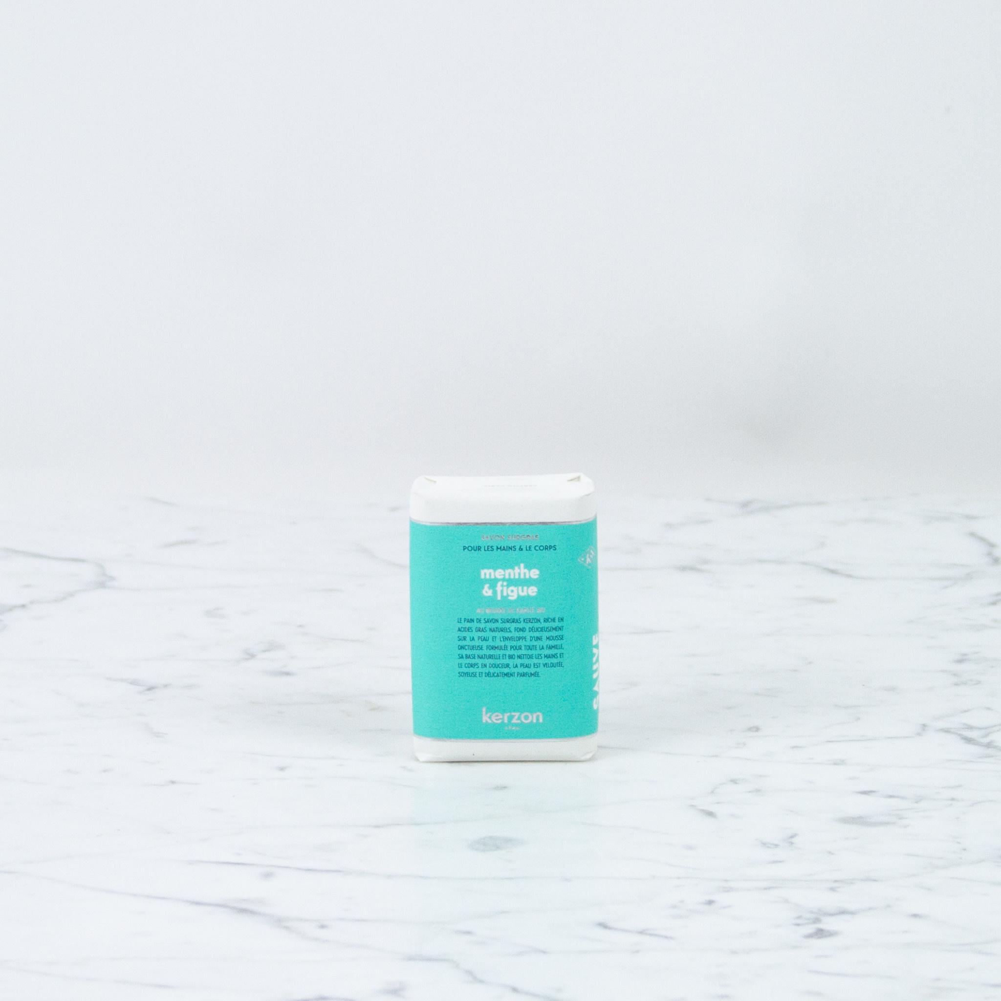 Kerzon Bar Soap - Mint + Fig
