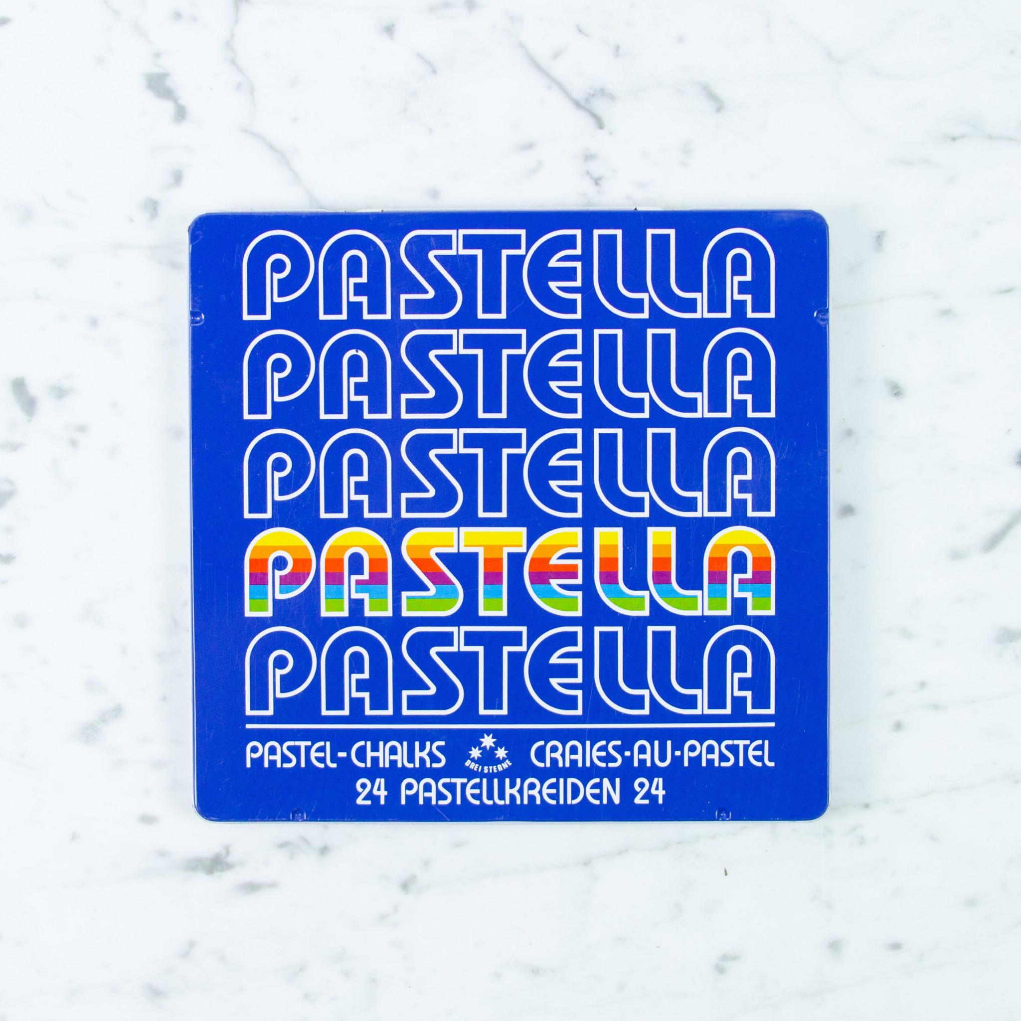 THREE STARS Pastella - Chalk Pastels - 24 Sticks In Box
