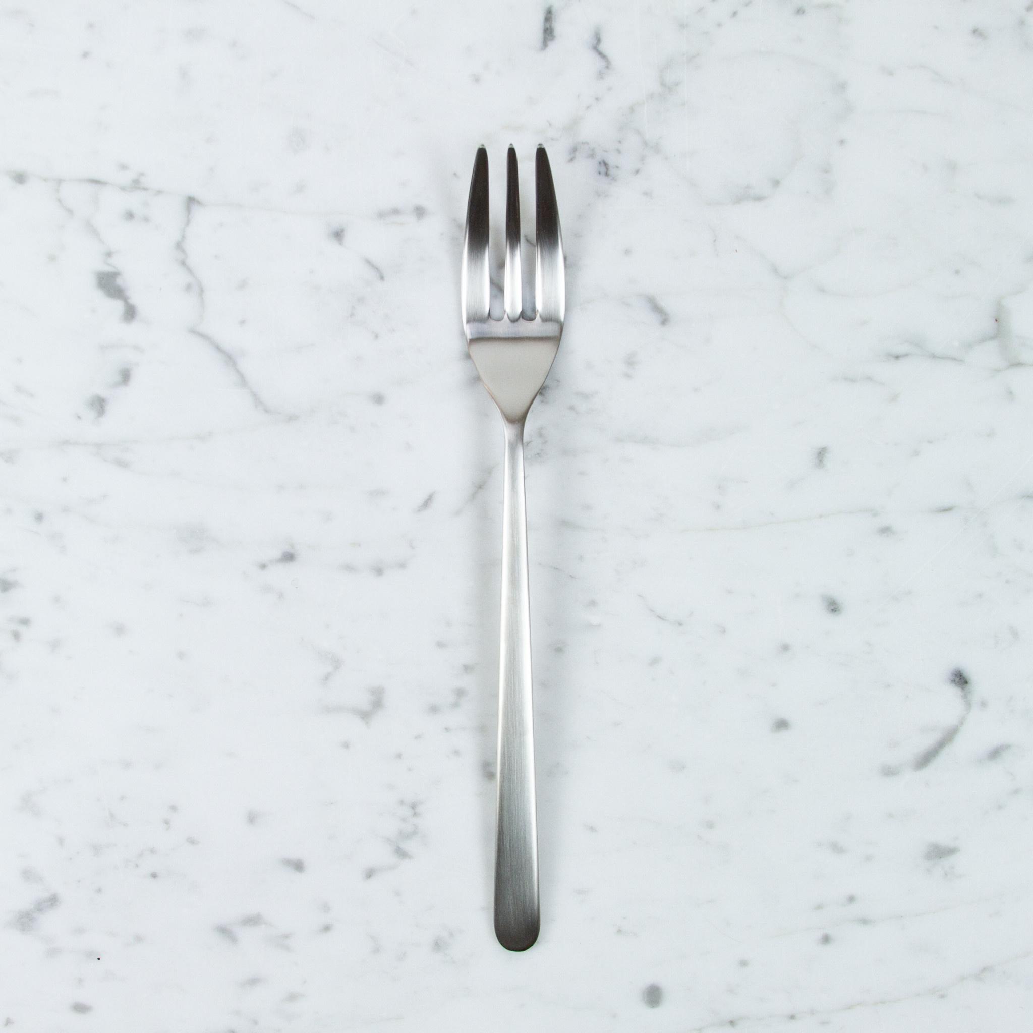 Mepra Italian Serving Fork - Linea Ice