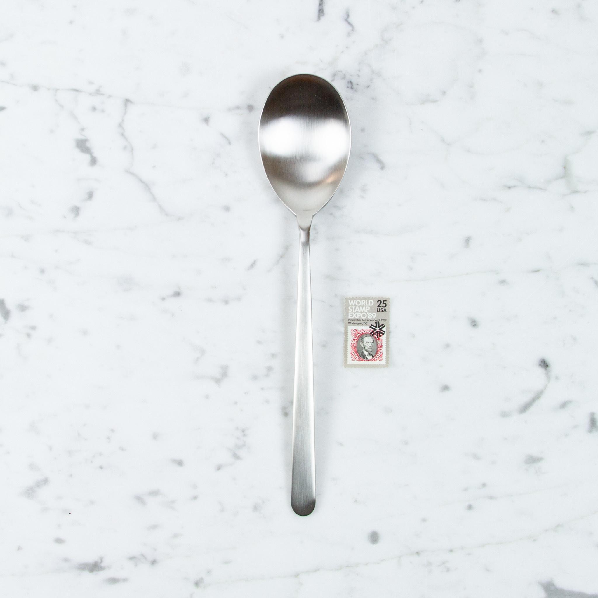Mepra Italian Serving Spoon - Linea Ice