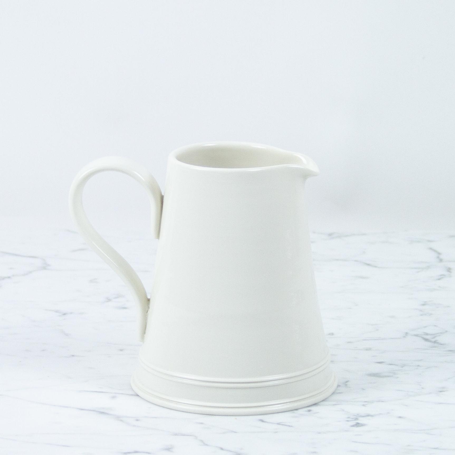 "John Julian John Julian Hand Thrown Classical Dairy Pitcher - Small - 6 1/4"" - 500 ml"
