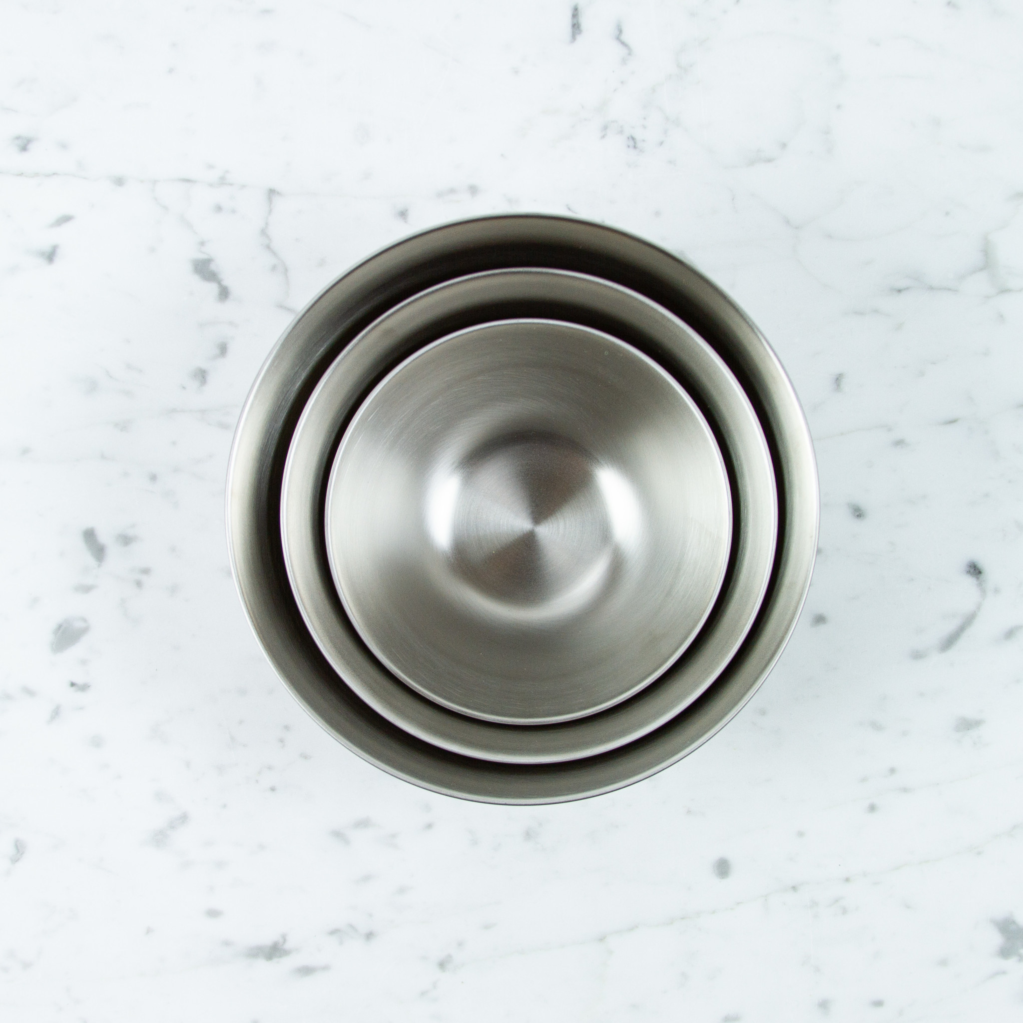 """Japanese Stainless Steel Mixing Bowl - 10.75"""""""