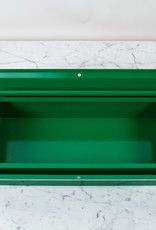Italian Single Layer Steel Tool Box - Bright Green
