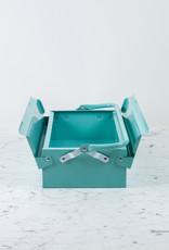 Italian Single Layer Steel Tool Box - Mint Green