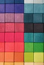 "Grimm's Toys Giant Mosaic Block Set - Large - 100 Piece - 17 1/2"" Square"