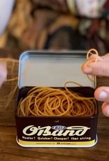 Kyowa O'Band Rubber Bands - Classic Brown Tin