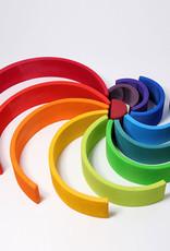 "Grimm's Toys Rainbow - Extra Large - 12 Piece Set - 14"""