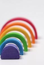 "Grimm's Toys Rainbow - Large - 6 Piece Set - 6 1/2"""