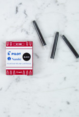 Pilot Namiki Fountain Pen Refill Pack - IC100 Black