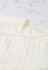 Tane Organics Kimono Onesie with Leggings - Ecru - 3-6 Month