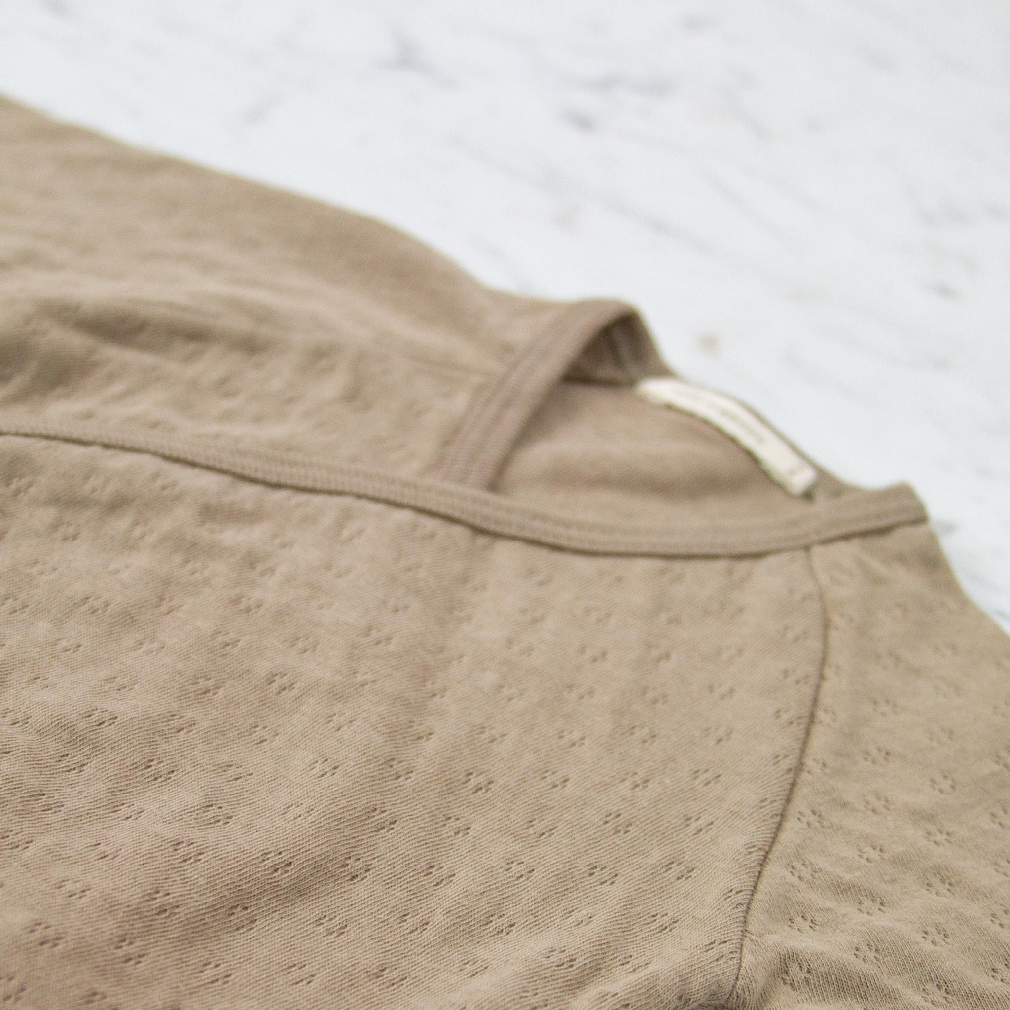 Tane Organics Kimono Onesie with Leggings - Root - 3-6 Month