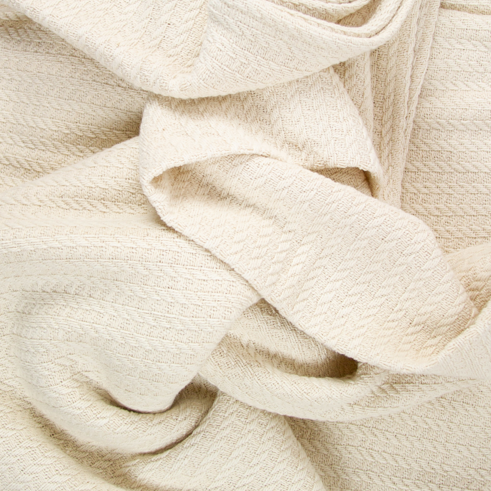 Dolce Woven Cotton Blanket