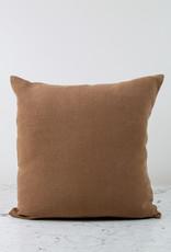 "Libeco Home 20"" Hudson Heavy Belgian Linen Pillow COVER ONLY - Cinnamon"