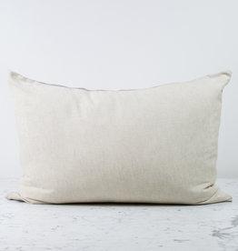 Standard or Queen - Natural - Linen + Silk Flip Pillowcase