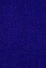 Washed French Linen Dish or Hand Towel with Hidden Apron Strings - Bright Indigo