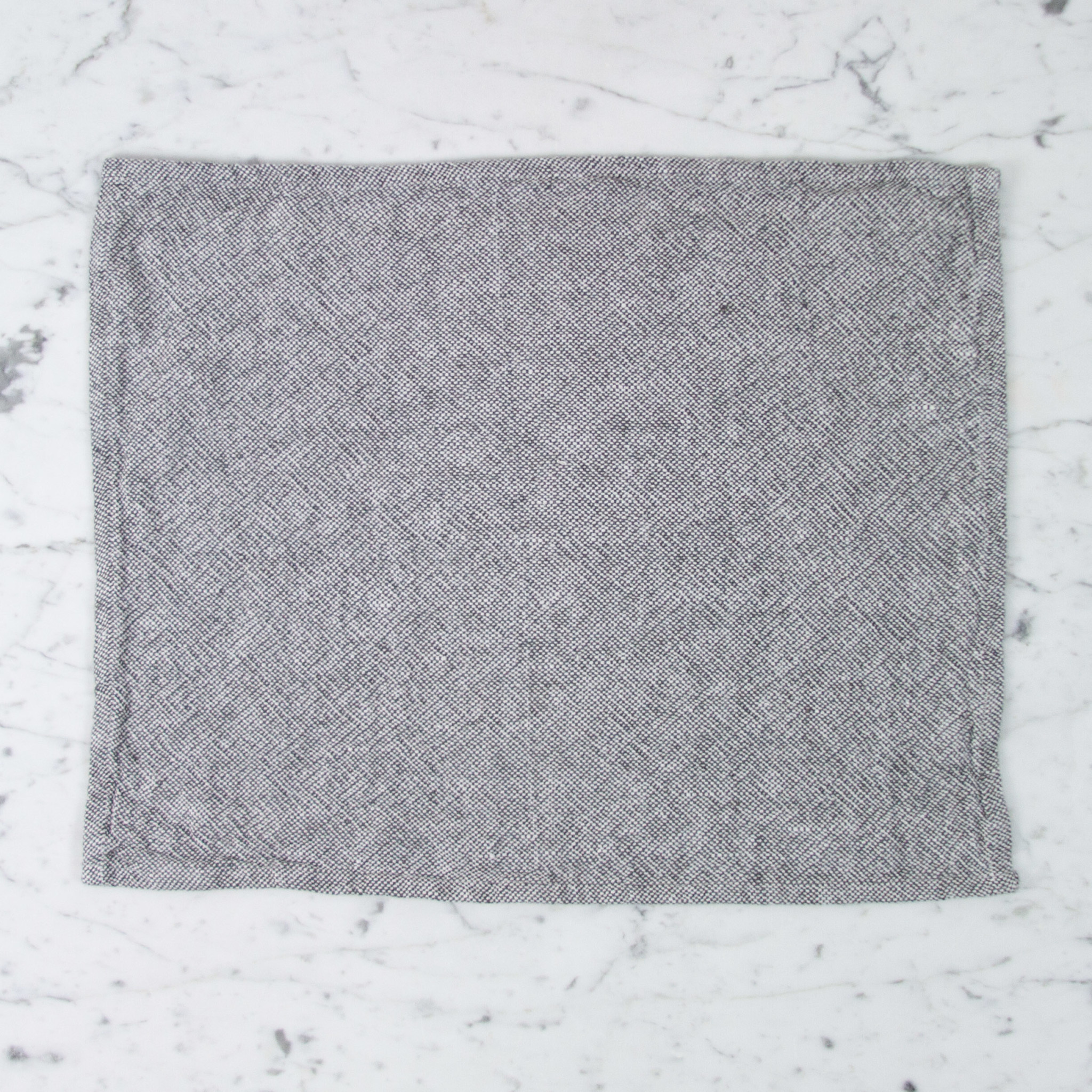 Heavy French Linen Placemat - Granite